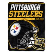 Pittsburgh Steelers 40-Yard Dash Throw Blanket