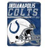 Indianapolis Colts 40-Yard Dash Throw Blanket