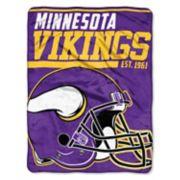 Minnesota Vikings 40-Yard Dash Throw Blanket