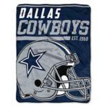 Dallas Cowboys 40-Yard Dash Throw Blanket