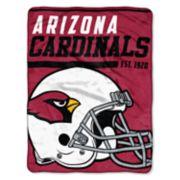 Arizona Cardinals 40-Yard Dash Throw Blanket