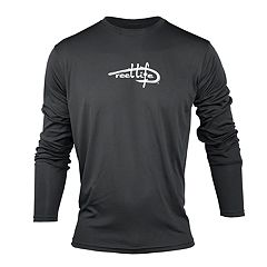 Men's Reel Life Logo Performance Fishing Shirt