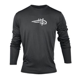 Men's Reel Life Logo Performance Fishing Shirt
