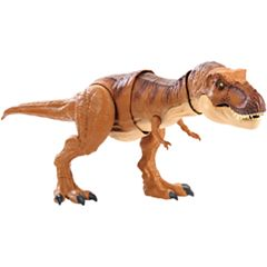 Jurassic World Thrash 'N Throw Tyrannosaurus Rex Figure by Mattel