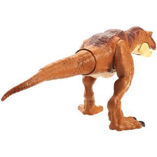 Jurassic World Thrash 'N Throw Tyrannosaurus Rex Figure by Mattel