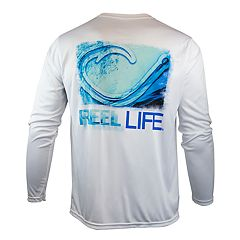Men's Reel Life Performance Fishing Tee