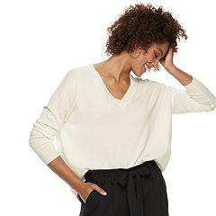 Women's POPSUGAR V-Neck Boyfriend Sweater