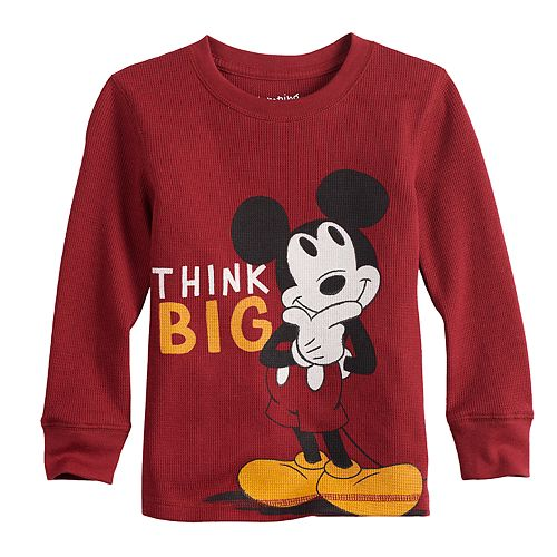 e83401f82 Disney's Mickey Mouse Toddler Boy Thermal Graphic Tee by Jumping ...