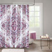 510 Design Emmi Medallion Shower Curtain