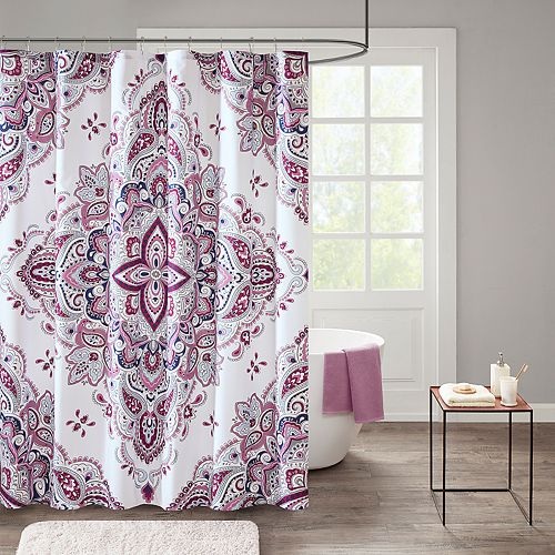 510 Design Emmi Medallion Shower Curtain