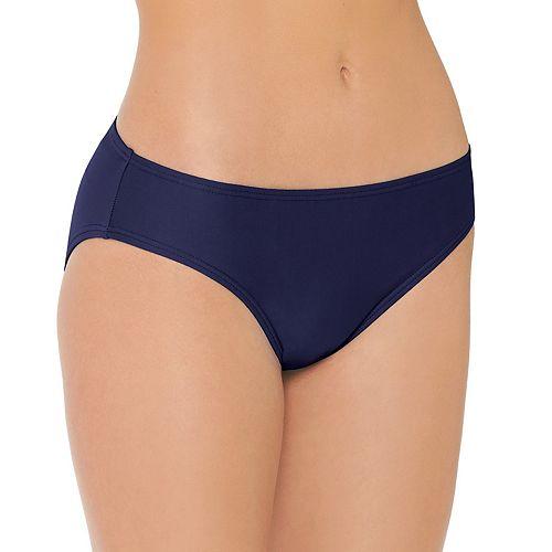 Mix and Match Ruched-Back Cheeky Bikini Bottoms