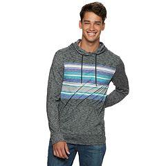 Men's Uprban Pipeline® Striped Hooded Tee