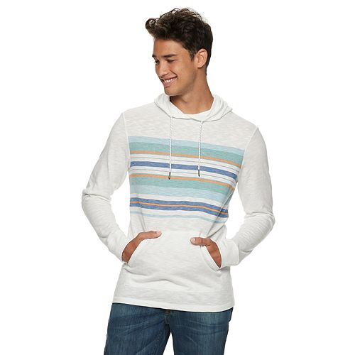 Men's Urban Pipeline® Striped Hooded Tee