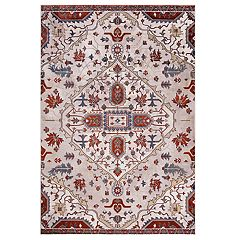 Concord Global Olympus Medallion Floral Rug