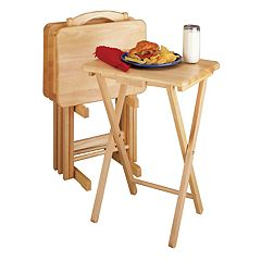 Winsome Alex Snack Tray Table 5-piece Set
