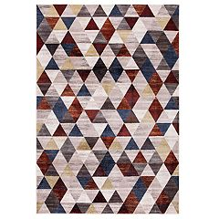 Concord Global Olympus Diamond Geometric Rug