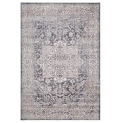 Concord Global Olympus Heriz Framed Floral Rug