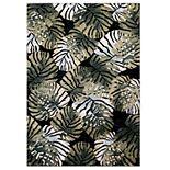 Concord Global Olympus Tropical Leaf Rug