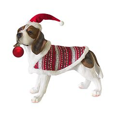 Holiday Beagle 15.6' Floor Decor