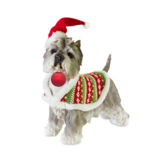 """Holiday White Terrier 15.2"""" Floor Decor"""