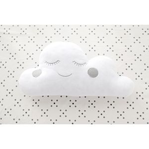 My Baby Sam Cloudy Gray Throw Pillow