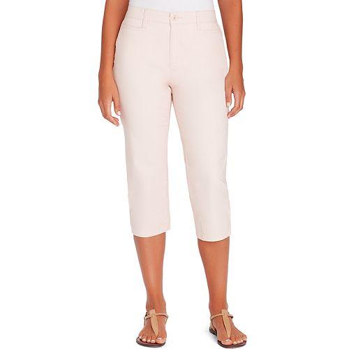 8e0b5cc8cf031 Petite Gloria Vanderbilt Amanda Trouser Capri Pants