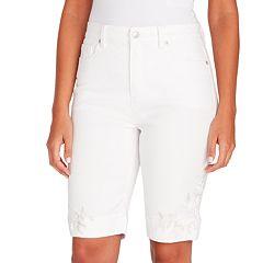 Petite Gloria Vanderbilt Amanda Bermuda Shorts