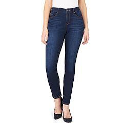 Petite Gloria Vanderbilt Curvy Fit Mid-Rise Skinny Jeans