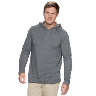 Big & Tall SONOMA Goods for Life? Supersoft Henley Hoodie
