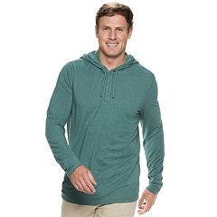 Big & Tall SONOMA Goods for Life™ Supersoft Henley Hoodie