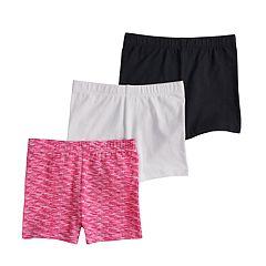 Girls 7-16 SO® 3-pack Tumble Shorts