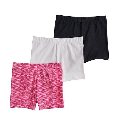 Girls 4-16 SO® 3-pack Tumble Shorts