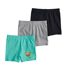Girls 7-16 SO® 3-pack Tumble Shorts