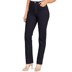 Petite Gloria Vanderbilt Amanda High-Waisted Jeans