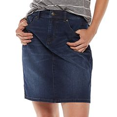 Women's SONOMA Goods for Life™ Jean Skirt
