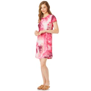 Juniors' WallFlower Tie-Dye T-Shirt Dress
