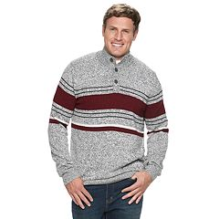 Big & Tall Croft & Barrow® Classic-Fit Birdseye 7gg Crewneck Sweater