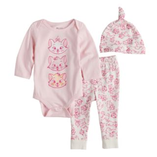 Disney's Aristocats Baby Girl Bodysuit, Pants & Hat Set by Jumping Beans®