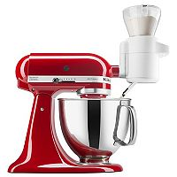 Deals on KitchenAid KSMSFTA Sifter + Scale Attachment + $10 Kohls Cash
