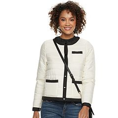 Women's POPSUGAR Colorblock Puffer Jacket
