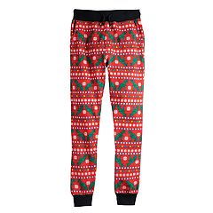 Boys 8-20 Hollywood Jeans Christmas Jogger Pants