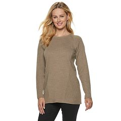 Women's Apt. 9® Ribbed Side Raglan Tunic