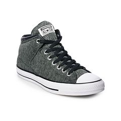Men s Converse Chuck Taylor All Star High Street High Top Shoes. Black Mason 34a5d0fc4