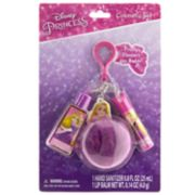Disney Princess Girls 4-16 Tangled Rapunzel Lip Balm & Hand Sanitizer Keychain Set