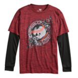 Boys 8-20 Tek Gear® Graphic Mock-Layer Tee