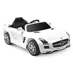 Kid Motorz White Mercedes Benz SLS AMG Ride-On Vehicle