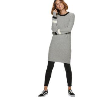 Women's POPSUGAR Striped Sweater Dress