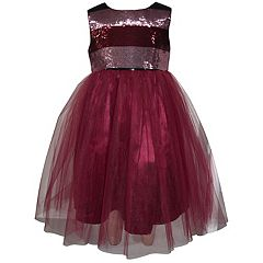 Girls 4-6x Blueberi Boulevard Sequin Tulle Dress
