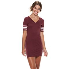 Juniors' Almost Famous Striped Dress