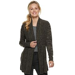 Women's Apt. 9® Cozy Ribbed Cardigan